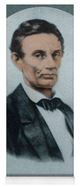Abraham Lincoln, 16th American President Yoga Mat