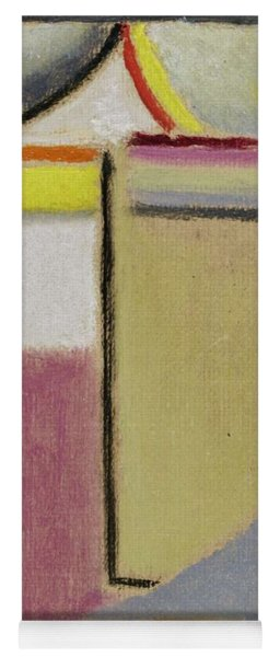 Yoga Mat featuring the painting Alexej Von Jawlensky 1864 1941  Small Abstract Head by Artistic Panda