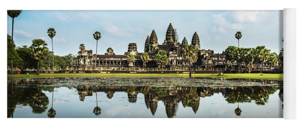 Angkor Wat Yoga Mat