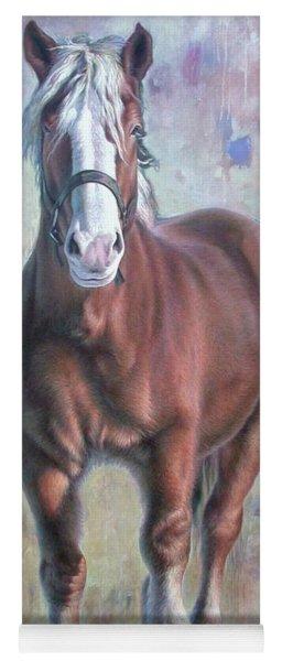 Arthur The Belgian Horse Yoga Mat