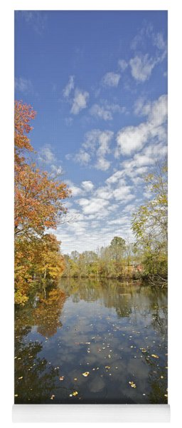 Autumn Colors On The Delaware And Raritan Canal Yoga Mat