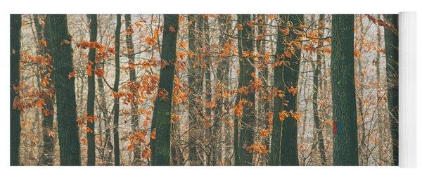 Autumn Forest Yoga Mat