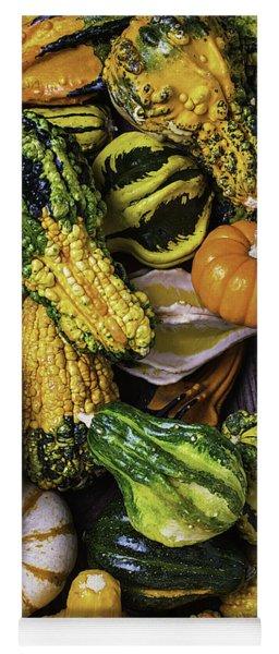Autumn Gourds Yoga Mat