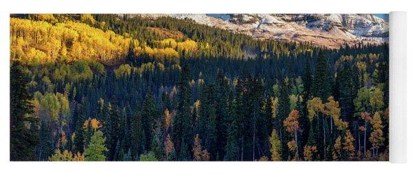 Autumn In Colorado Yoga Mat