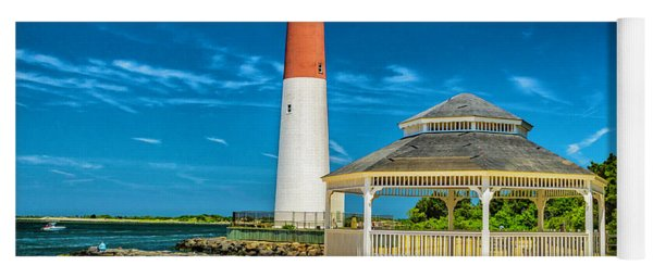 Barnegat Lighthouse Park Yoga Mat