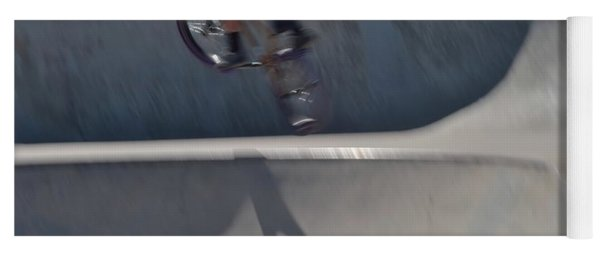 Biking The Skateboard Park #6 Yoga Mat