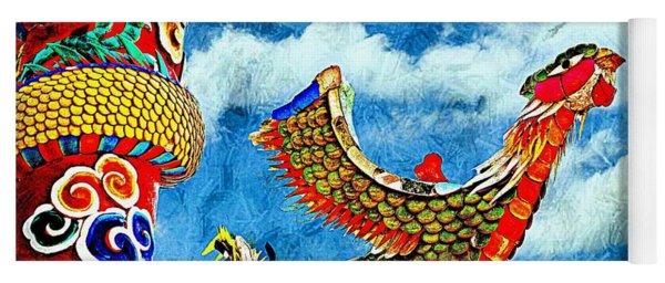 Bird Of China Yoga Mat