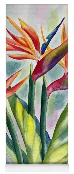 Bird Of Paradise Flowers Yoga Mat