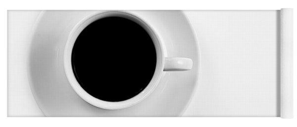 Black Coffee Yoga Mat