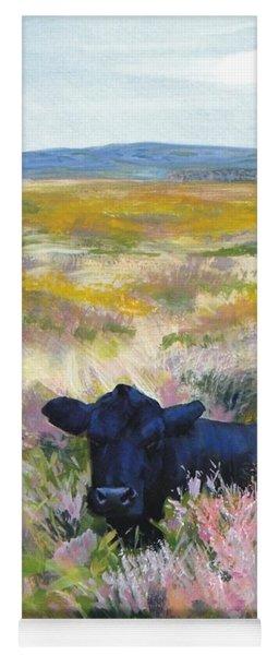 Black Cow Dartmoor Yoga Mat