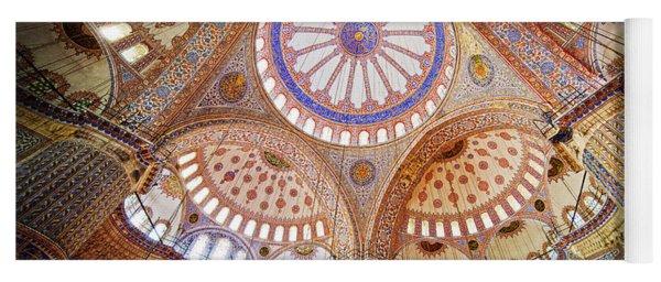 Blue Mosque Interior Yoga Mat