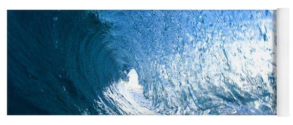 Blue Sleeve  - Triptych   Part 1of 3 Yoga Mat