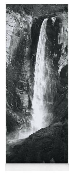 Bridalveil Falls. Yosemite California Yoga Mat