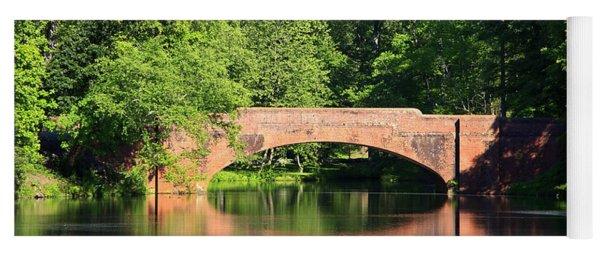 Bridge Reflection In The Spring Yoga Mat