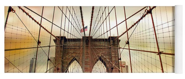 Brooklyn Bridge Approach Yoga Mat