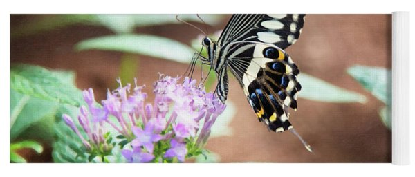 Butterfly Yoga Mat
