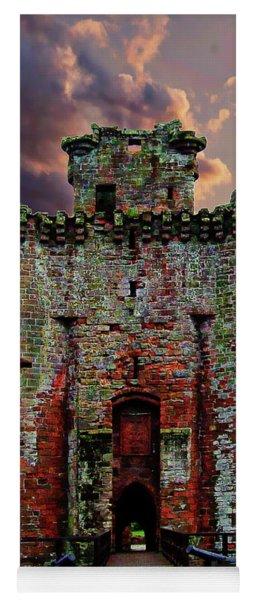 Caerlaverock Castle Yoga Mat