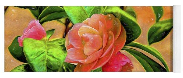 Camellia Candy Yoga Mat