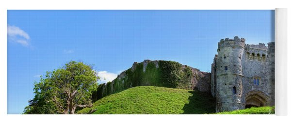 Carisbrooke Castle - Isle Of Wight Yoga Mat