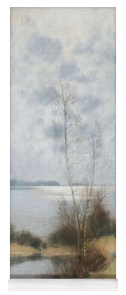 Yoga Mat featuring the painting  Carl Brandt    1871 1930    Landscape by Artistic Panda