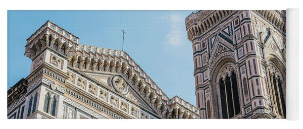 Cattedrale Di Santa Maria Del Fiore Is The Main Church Of Floren Yoga Mat
