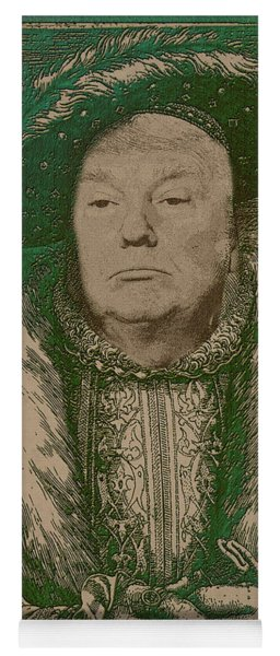 Celebrity Etchings - Donald Trump Yoga Mat