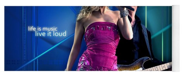 Celine Dion Yoga Mat