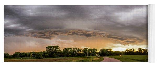 Chasing Nebraska Stormscapes 074 Yoga Mat