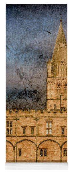 Oxford, England - Christ Church College Yoga Mat