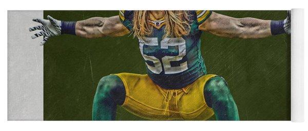 Clay Matthews Green Bay Packers Yoga Mat