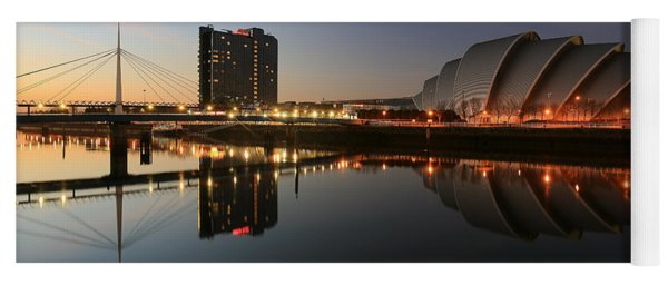 Clydeside Reflections  Yoga Mat