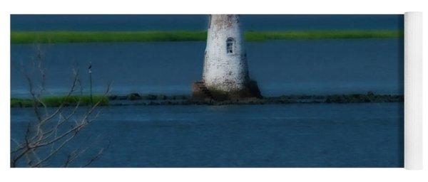 Cockspur Island Lighthouse Yoga Mat