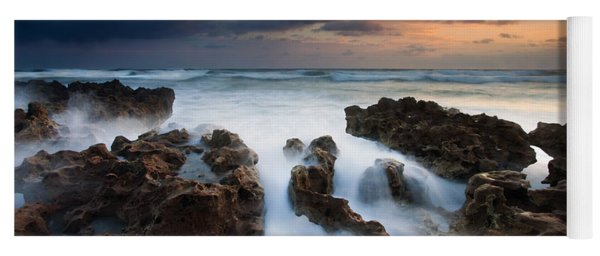 Coral Cove Dawn Yoga Mat