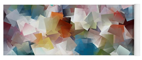 Crystal Cube Yoga Mat