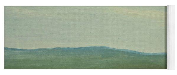 Dagrar Over Salenfjallen- Shifting Daylight Over Distant Horizon 5 Of 10_0029 91x61 Cm Yoga Mat