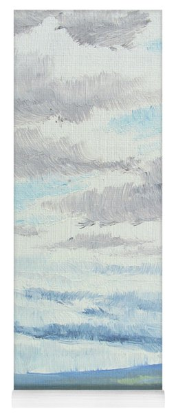 Dagrar Over Salenfjallen- Shifting Daylight Over Distant Horizon 9 Of 10_0029 Yoga Mat
