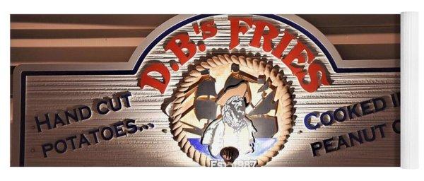 D.b.'s Fries Yoga Mat