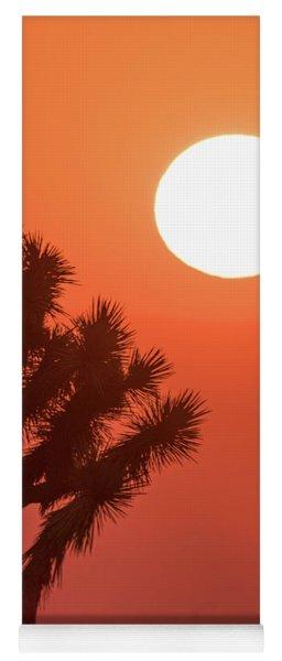 Desert Sunrise Yoga Mat