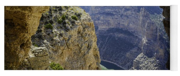 Yoga Mat featuring the photograph Devils Overlook by Gary Beeler