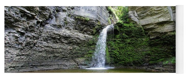 Eagle Cliff Falls In Ny Yoga Mat