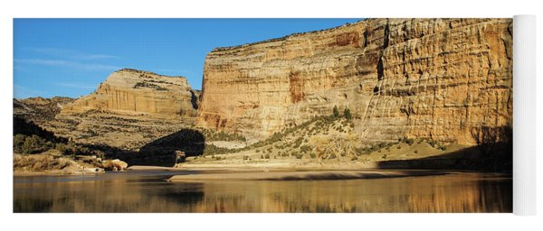 Yoga Mat featuring the photograph Echo Park In Dinosaur National Monument by Nadja Rider