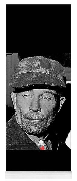 Ed Gein The Ghoul Who Inspired Psycho Plainfield Wisconsin C.1957-2013 Yoga Mat