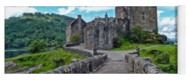 Eilean Donan Castle - -sct665549 Yoga Mat