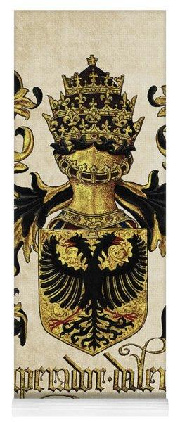 Emperor Of Germany Coat Of Arms - Livro Do Armeiro-mor Yoga Mat