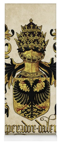 Emperor Of Germany Coat Of Arms - Livro Do Armeiro-mor Yoga Mat
