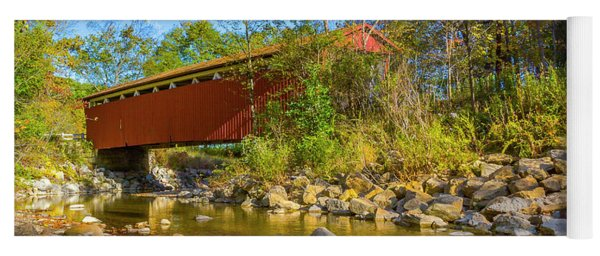 Everett Covered Bridge  Yoga Mat
