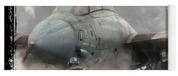 F-14 Smokin' Hot Yoga Mat