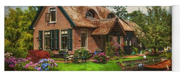 Fairytale House. Giethoorn. Venice Of The North Yoga Mat