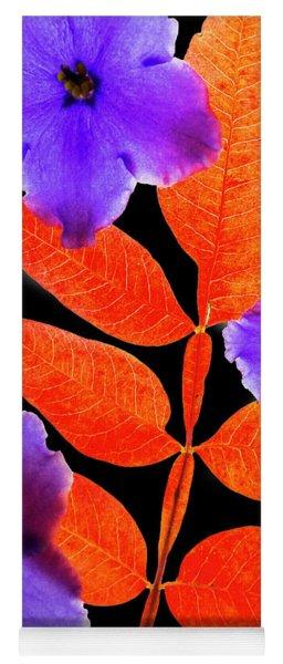 Fall Leaves  Yoga Mat