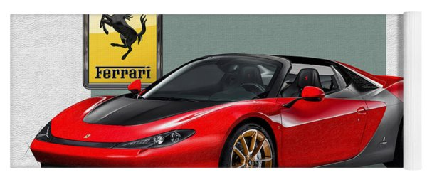 Ferrari Sergio With 3d Badge  Yoga Mat